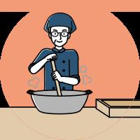 手練りのわらび餅